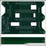单双面线路板加急打样/绿色阻焊PCB加工生产/电路板常规制作