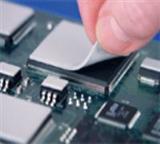 LED硅胶导热片散热硅胶垫散热硅脂*缘片