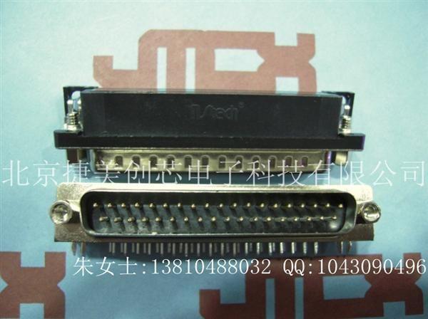 南士�金DR37公�^ DR37� DB37接�^ 90度���_ 插板式 焊板式