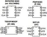 93LC46B-I/P|93LC46B-I/P存储器