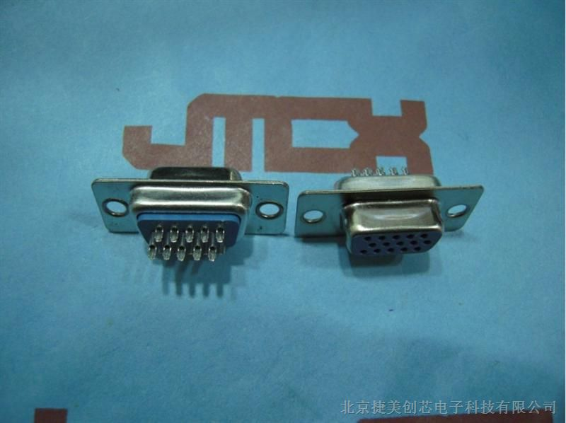 DB15焊孔母�^三排