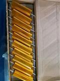 铝壳合金电阻50W-0.5R 5%大功率低阻值电阻。