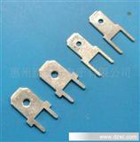 187、250两只脚焊板插片、4.8、6.3公端子、线路板端子