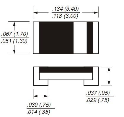 CT4148WP硅塑封开关二极管