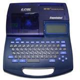 套管标识打号机,电缆标识打码机日本丽标号码管打字机佳能c-210e英文打字机