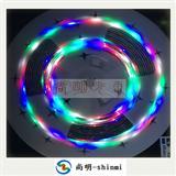 3528四彩LED免控灯带,10米一条3528四彩跑马灯条,广东跑马灯条厂家,