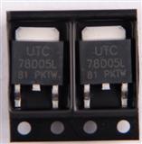 UTC原装品牌,芯片型号78D05L