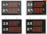 SD8210B 湿度、氨气一体式数码管LED电子看板 可选配RS485
