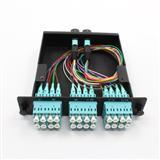 MPO配线盒 24芯多模束状MPO-LC配线箱 低损耗MPO光纤跳线厂家