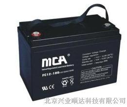 供应MCA蓄电池FC12-100 12V100AH价格 锐牌蓄电池