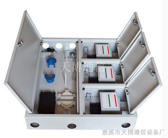 96芯三网合一光纤楼道箱